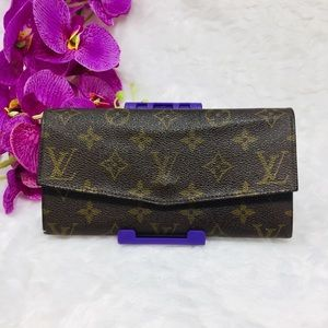 Authentic Preowned Louis Vuitton Long Wallet